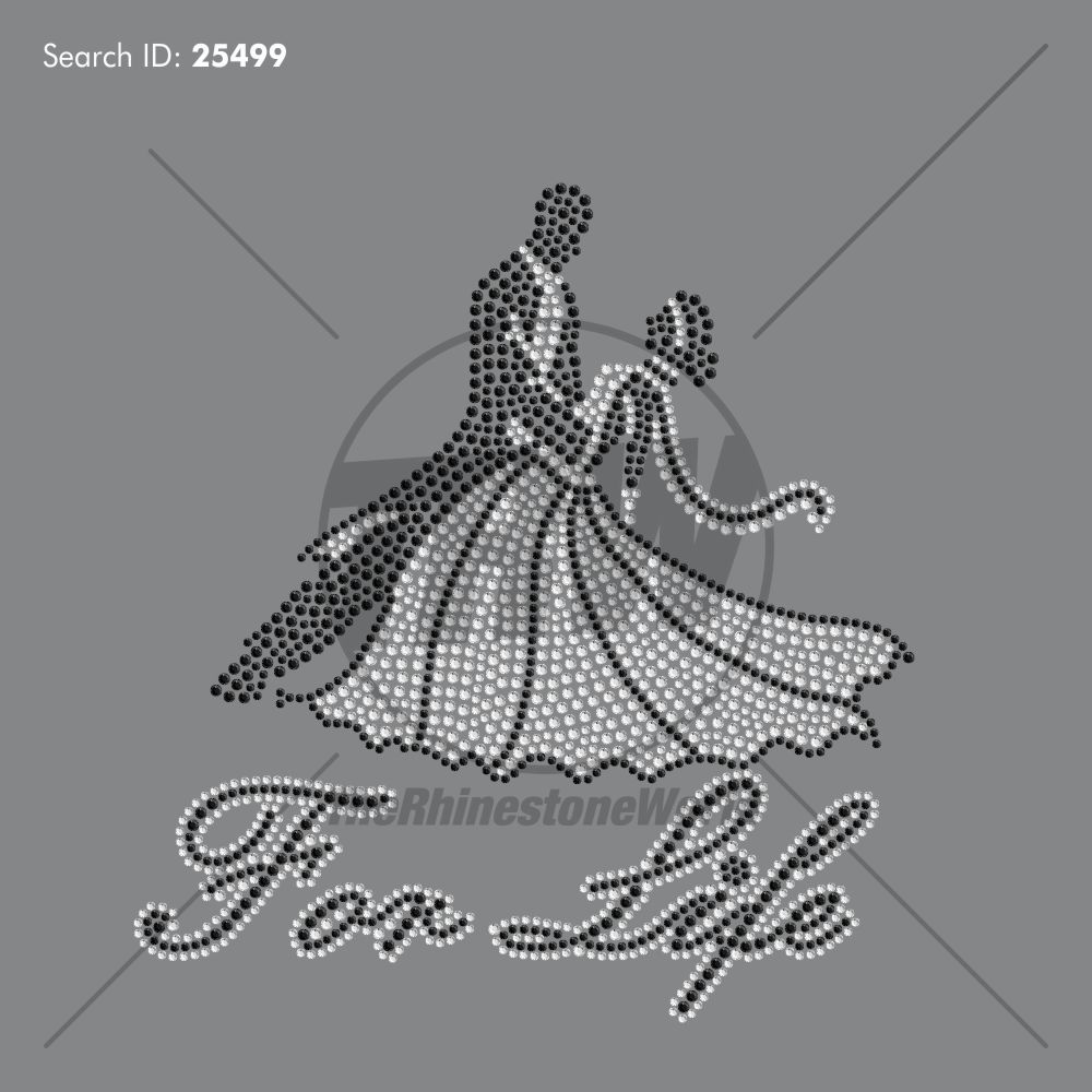 Dance For Life Rhinestone Design Download - Download