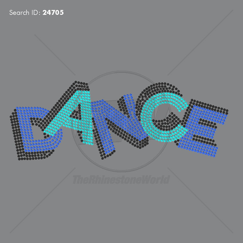 Dance Shadow Rhinestone Design - Download