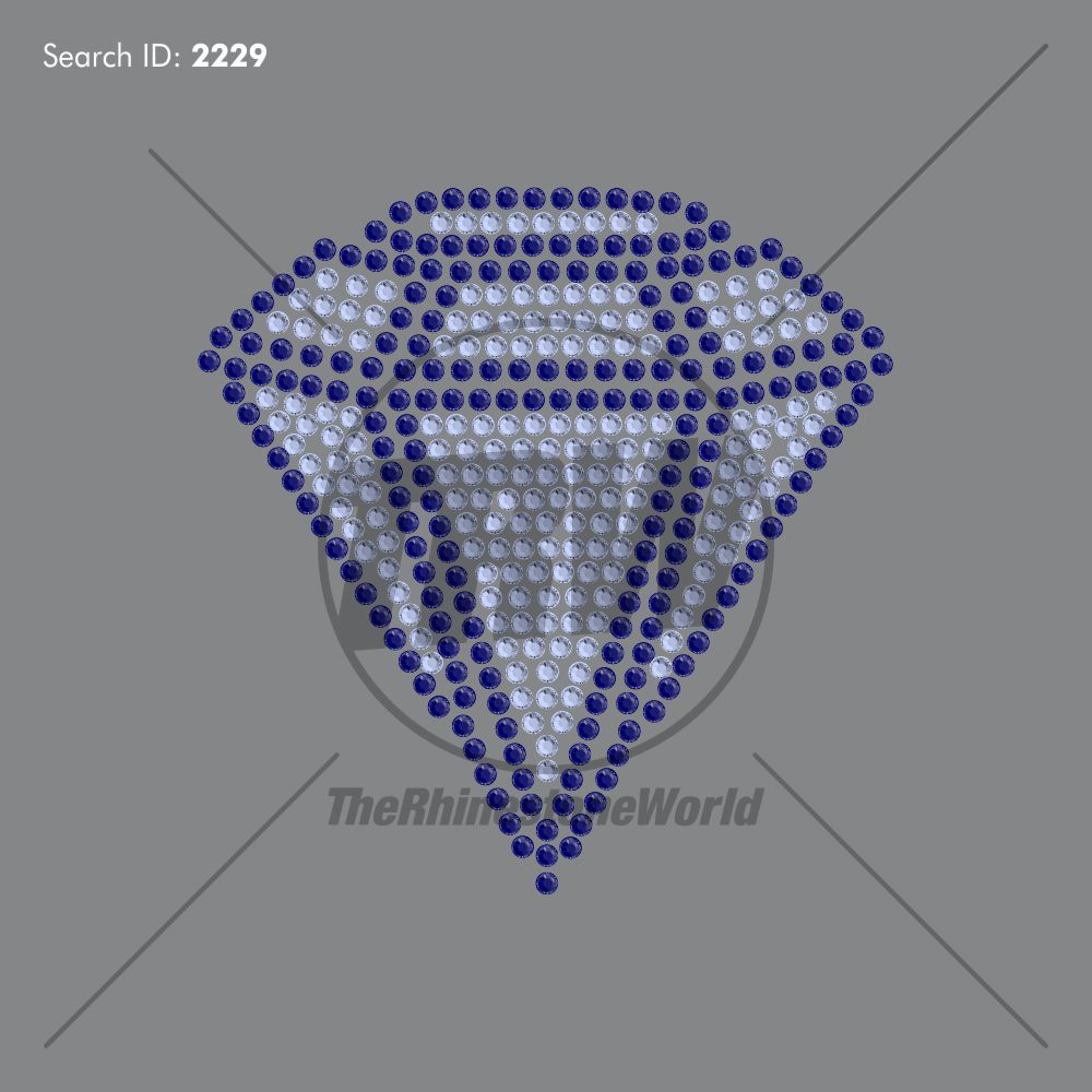 Diamond 2 Love Add-On Rhinestone Design - Download