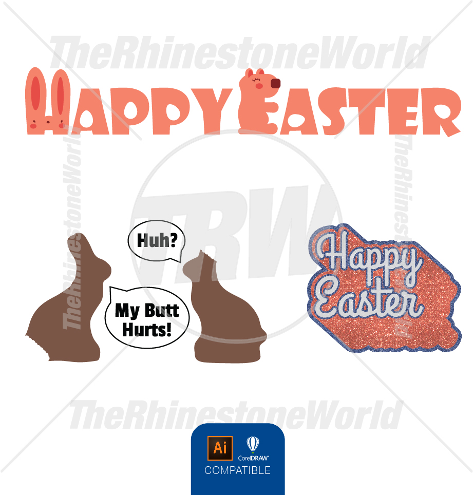 Easter Live Template Mini Pack