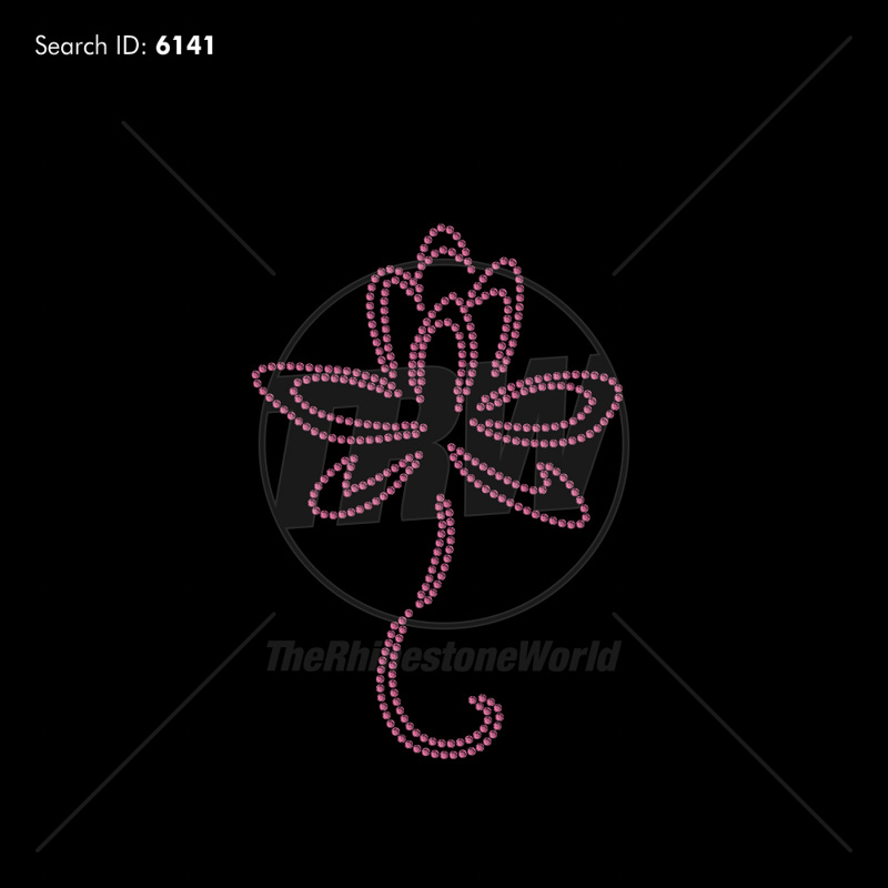 Flower 100 Rhinestone Design - Download