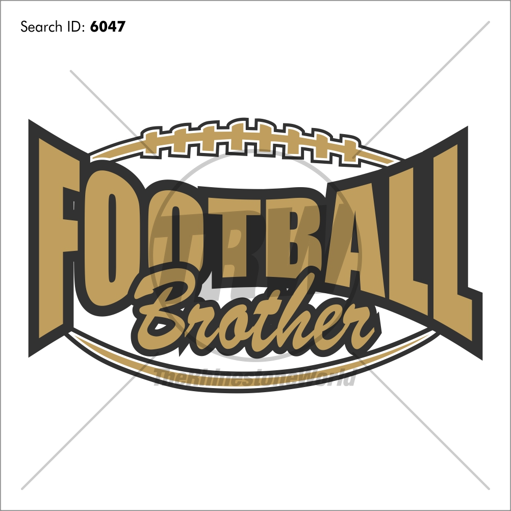 Football Brother 20 Vector Design - Download