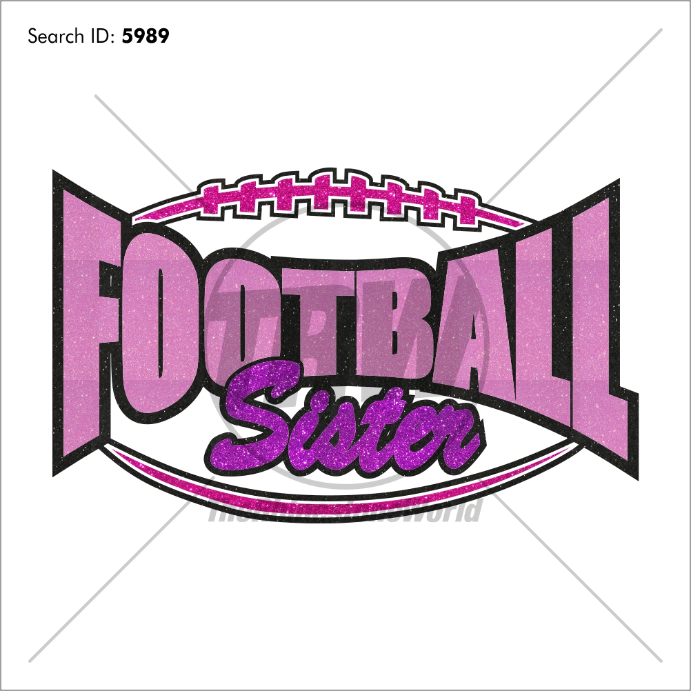 Football Sister 20 Vector Design - Download