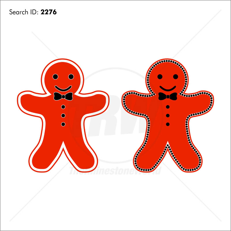 Gingerbread Man Multi-Dec Design Download Pack - Download