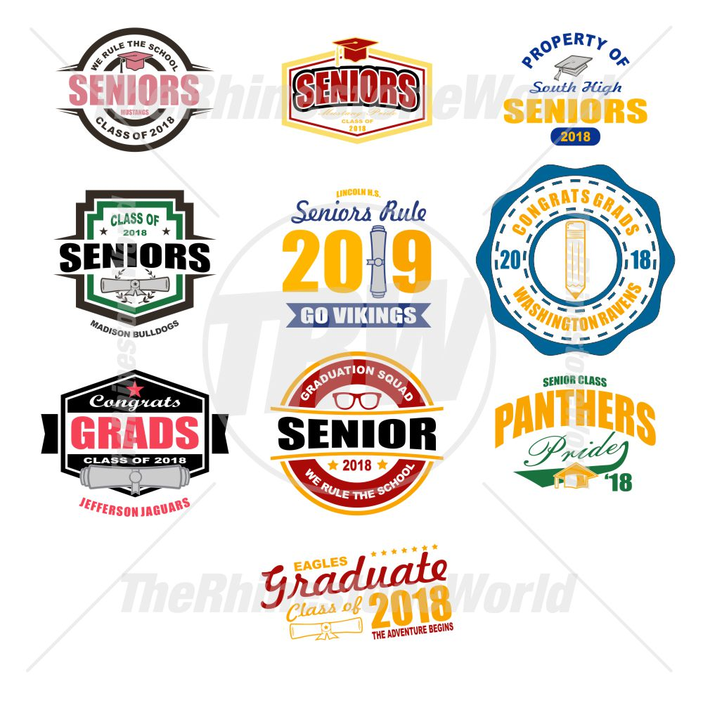 Graduation Live Template Mini Pack 1