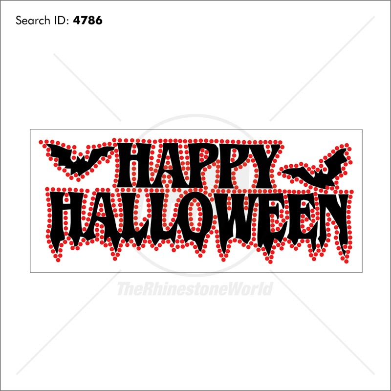 Happy Halloween Multi-Dec Design - Pre-Cut Template
