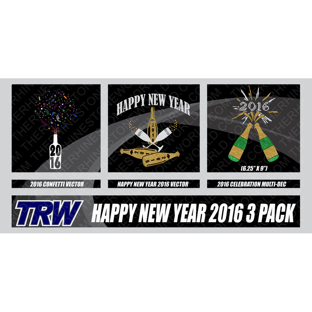 Happy New Year 3-02 Multi-Dec Design Pack - Download