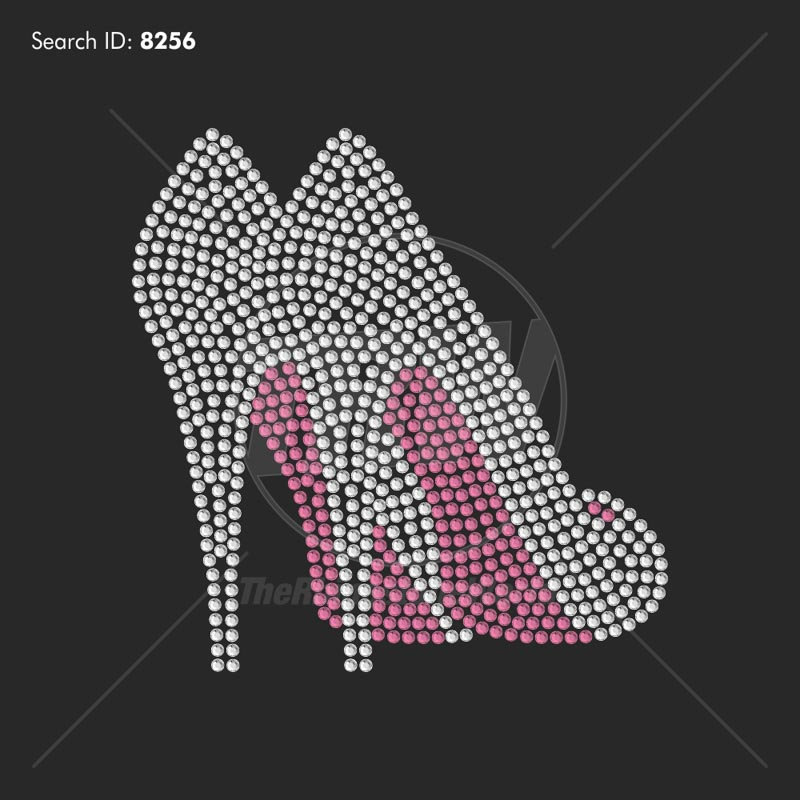 Heel Shoes 2 Rhinestone Design - Download