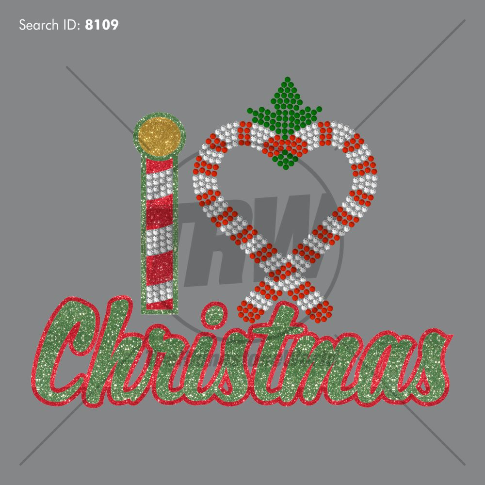 I Heart Christmas Multi-Dec Design - Download