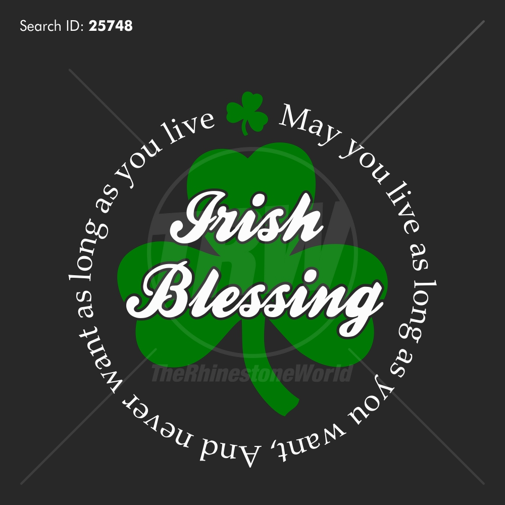 Irish Blessing Vector Design Download - Download