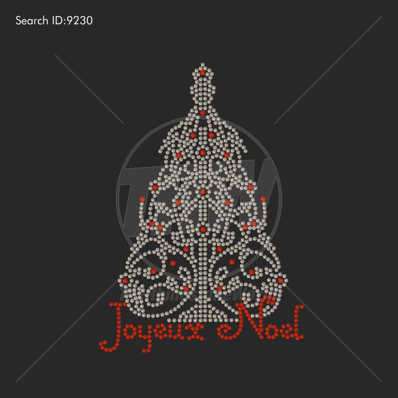 Www Joyeux Noel.Joyeux Noel Rhinestone Design Pre Cut Template