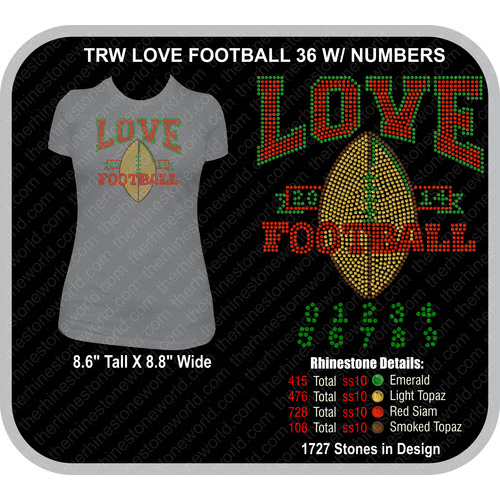 LOVE FOOTBALL  36 Design  - Download