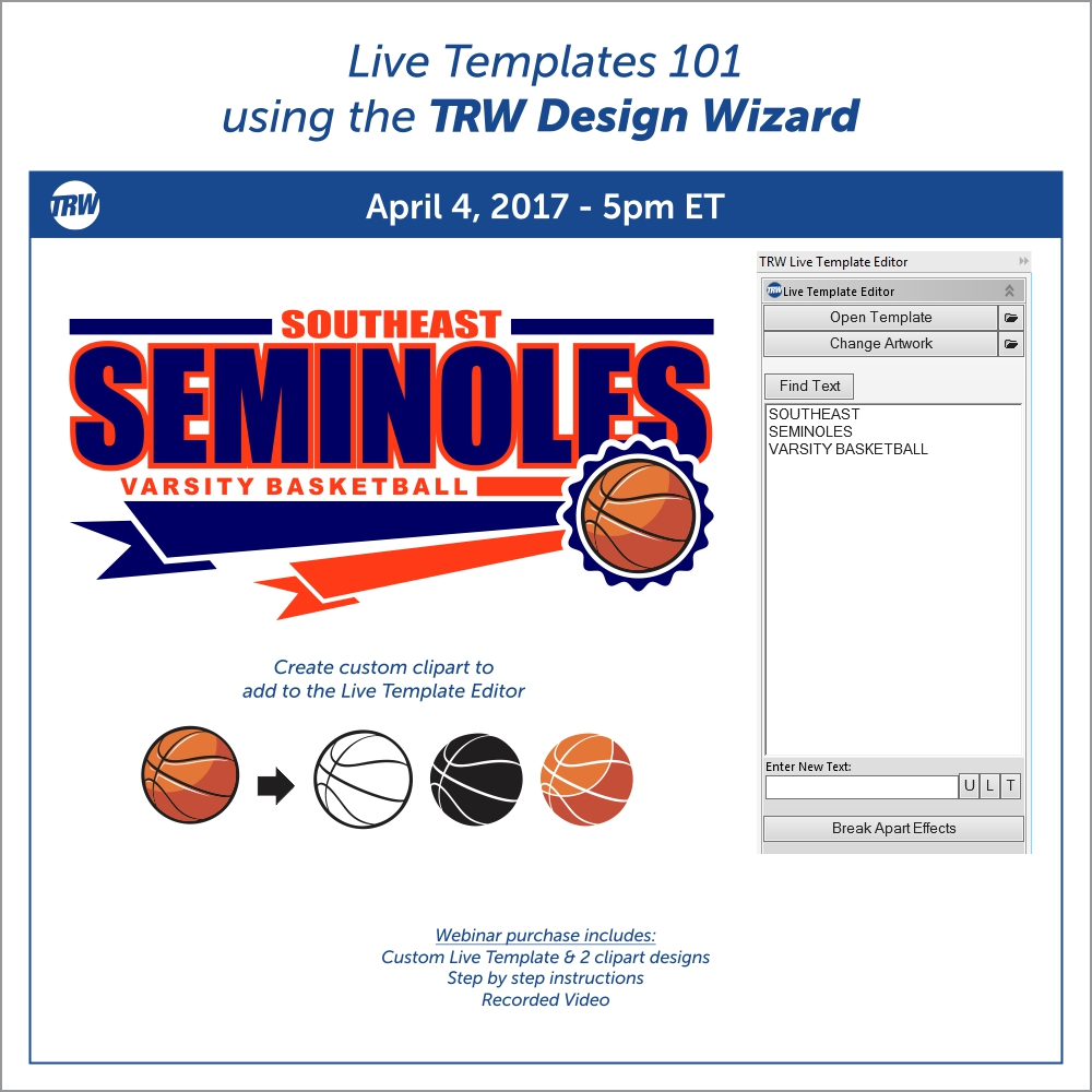 Live Templates 101 - April 4th, 2017