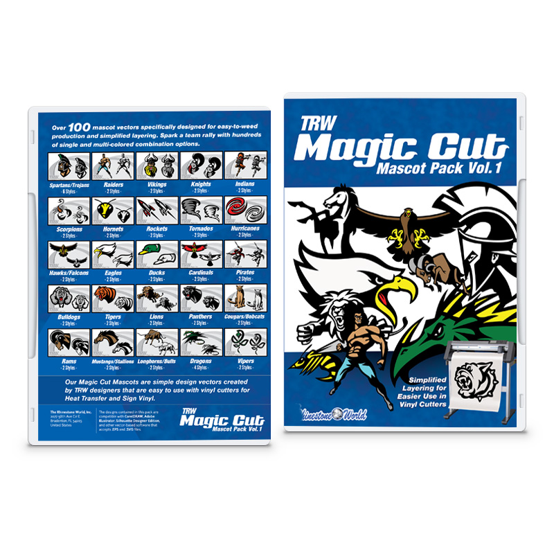 Magic Cut Mascots Pack Vol. 1