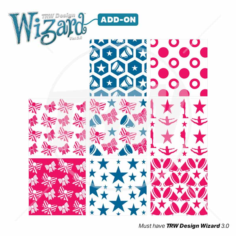 TRW Magic Pattern Pack Vol. 10 Cheer for TRW Design Wizard 3.0 - Download