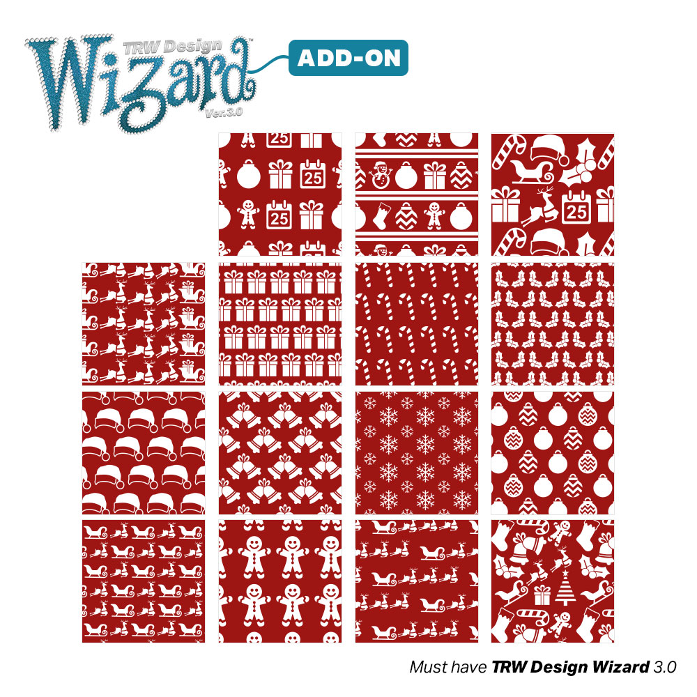 TRW Magic Pattern Pack Vol. 12 Holiday for TRW Design Wizard 3.0 - Download