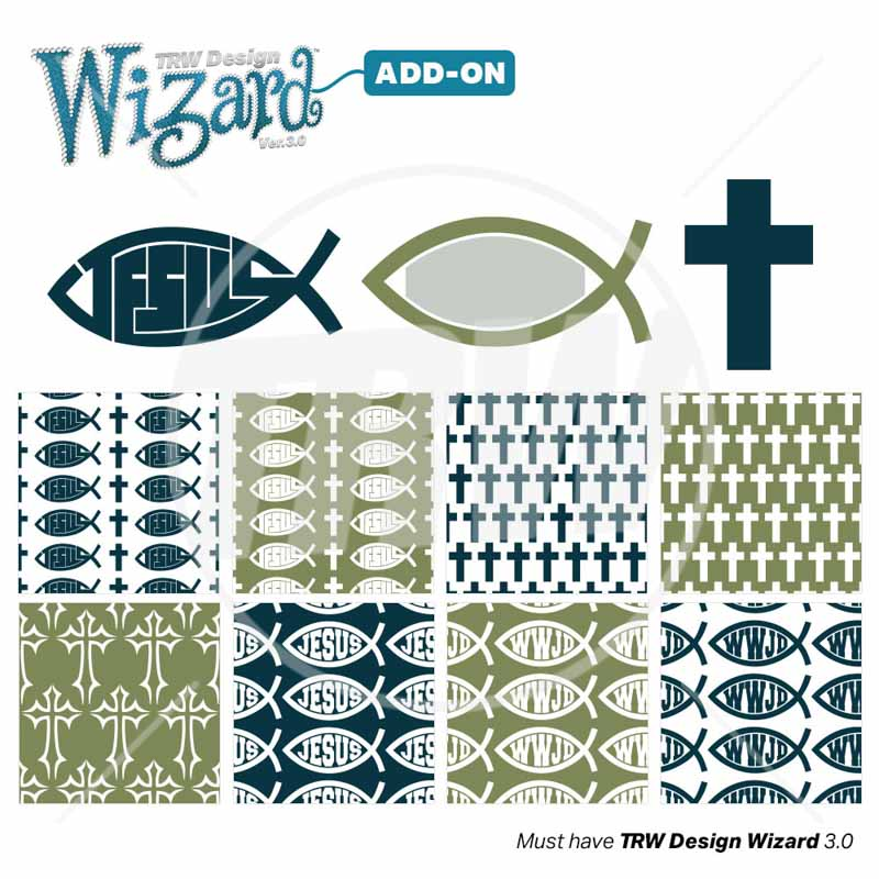Magic Pattern Pack Vol 15 Religion Pack for Design Wizard - Download