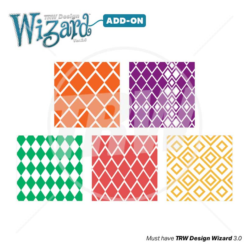 TRW Magic Pattern Pack Vol. 6 Diamonds for Design Wizard 3.0 - Download
