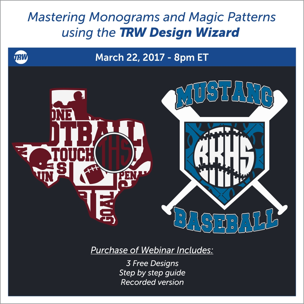 Mastering Monograms and Magic Patterns - March 22nd, 2017