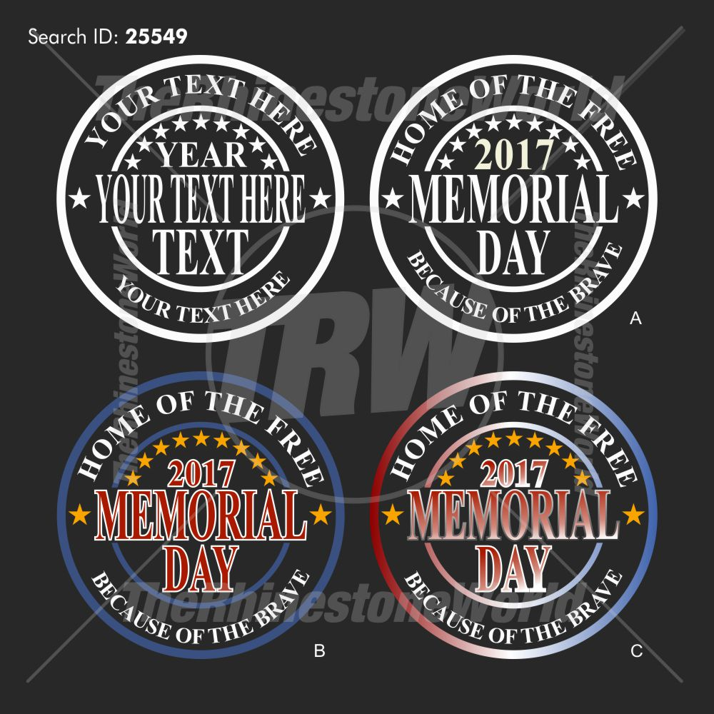 Memorial Day Live Templates Design Download - Download