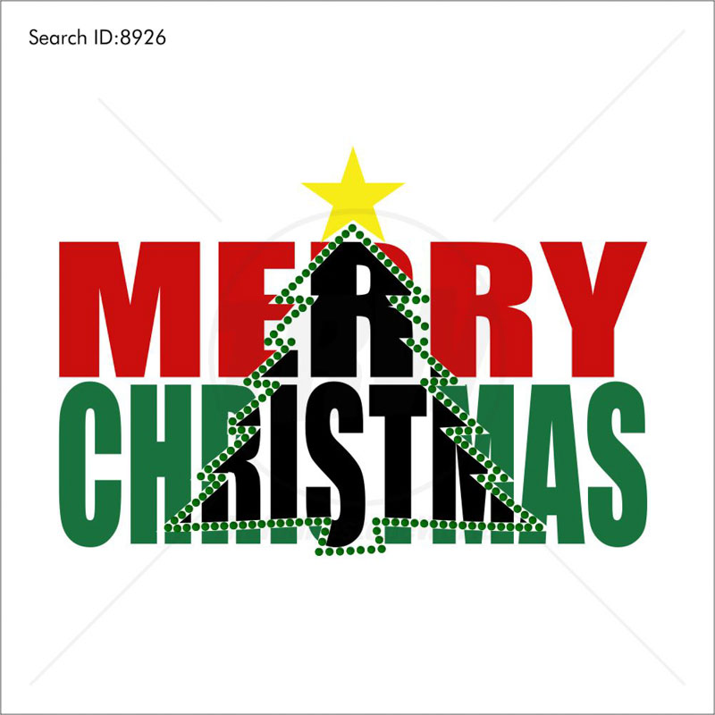 Merry Christmas Tree Multi-Dec Design - Download