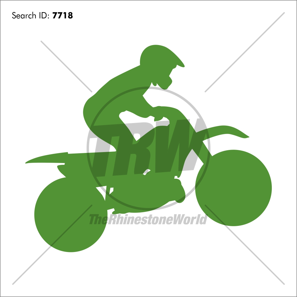 Motocross 1 Vector Design - Download