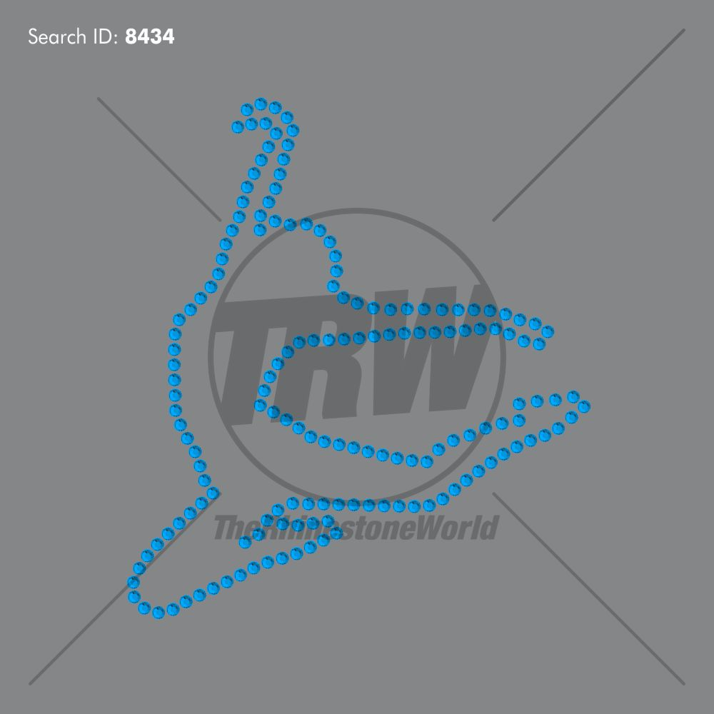 Outline Dance 3 Rhinestone Design - Download