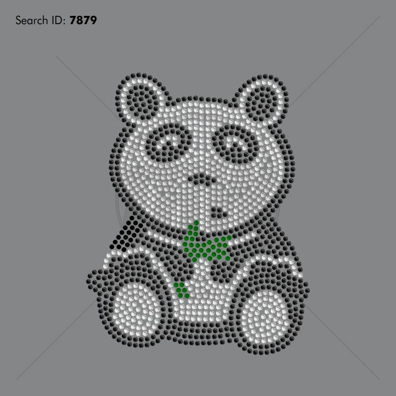 Panda Rhinestone Design - Download
