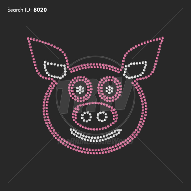 Piggly Wiggly Rhinestone Design - Download