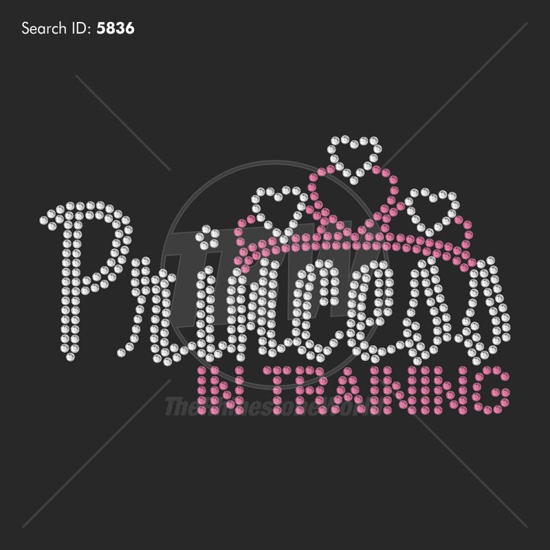 Princess in Training - Pre-Cut Template