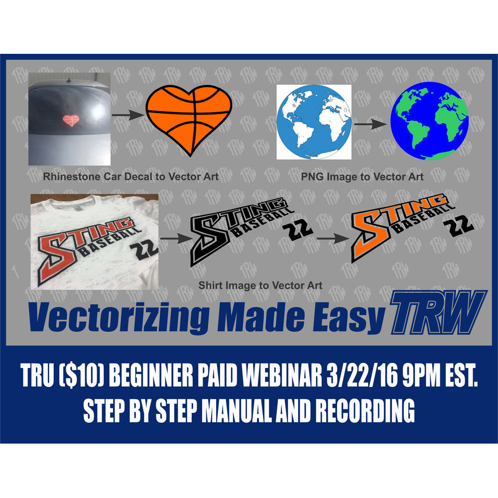 3/22/16 Webinar: Vectorizing in CorelDRAW
