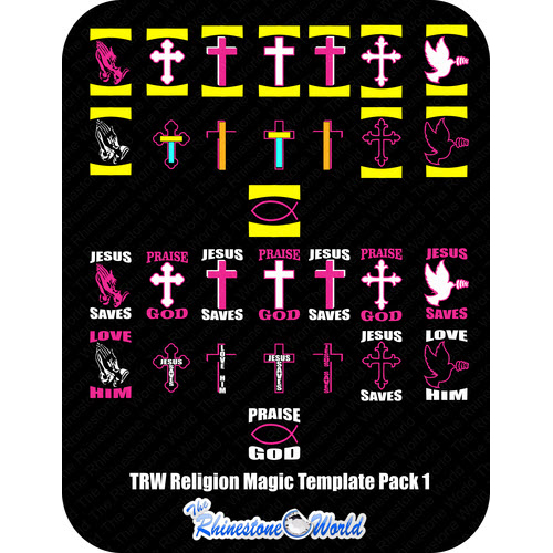 Religion Magic Template Pack 1 - Download
