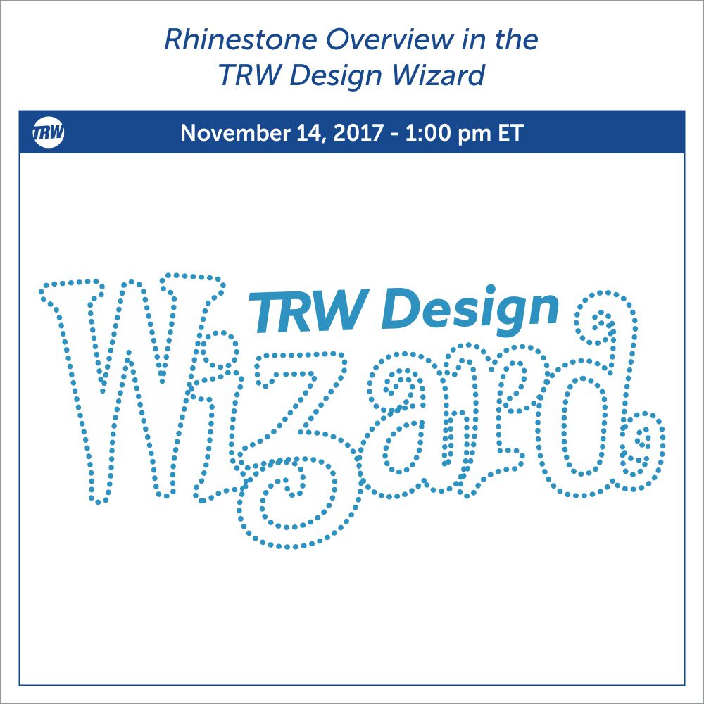 11/14/17 Rhinestone Overview in the Design Wizard