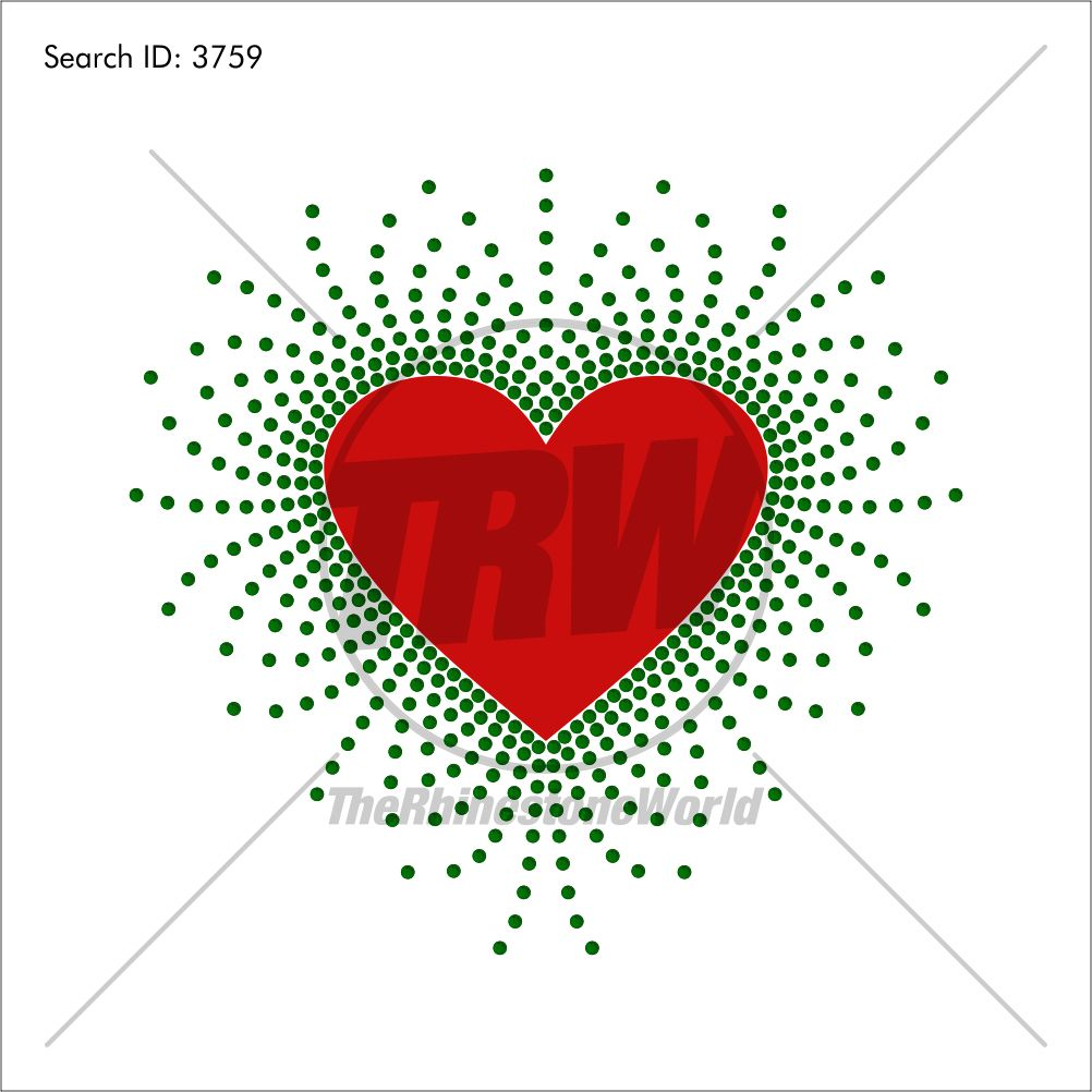 Scattered Heart Multi-Dec Design - Download