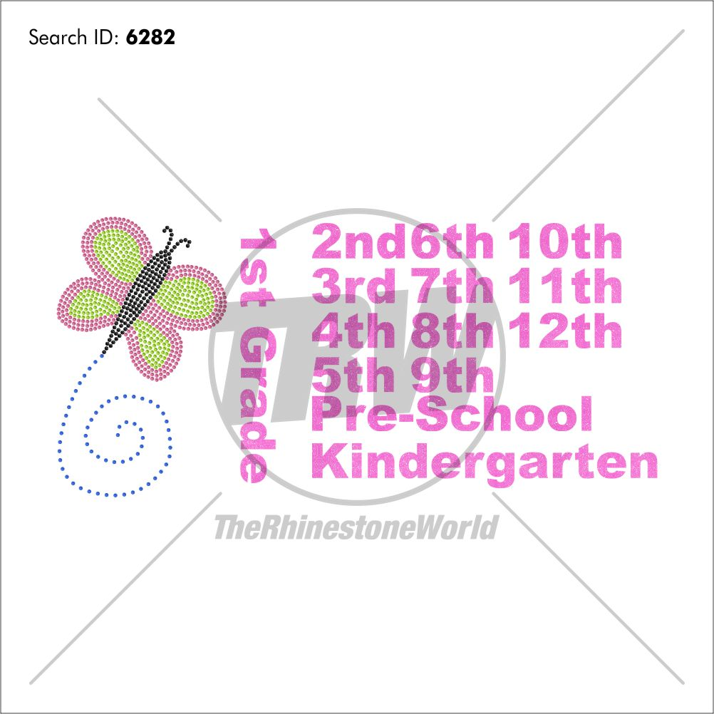 School Butterfly Multi-Dec Design - Download