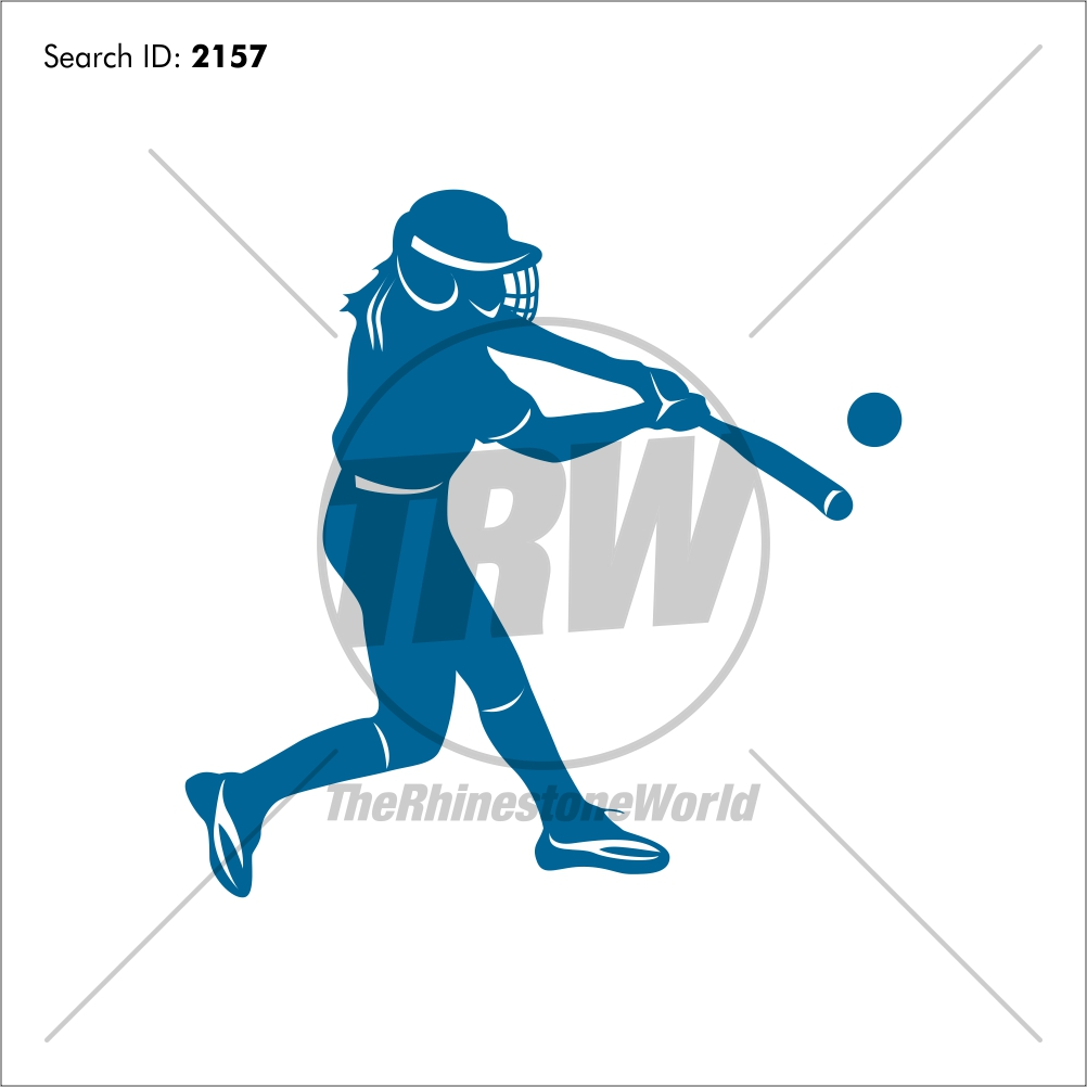 Softball 1 Vector Design - Download