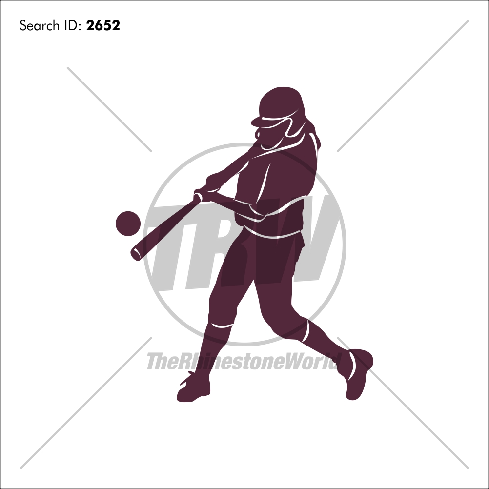 Softball 2 Vector Design - Download