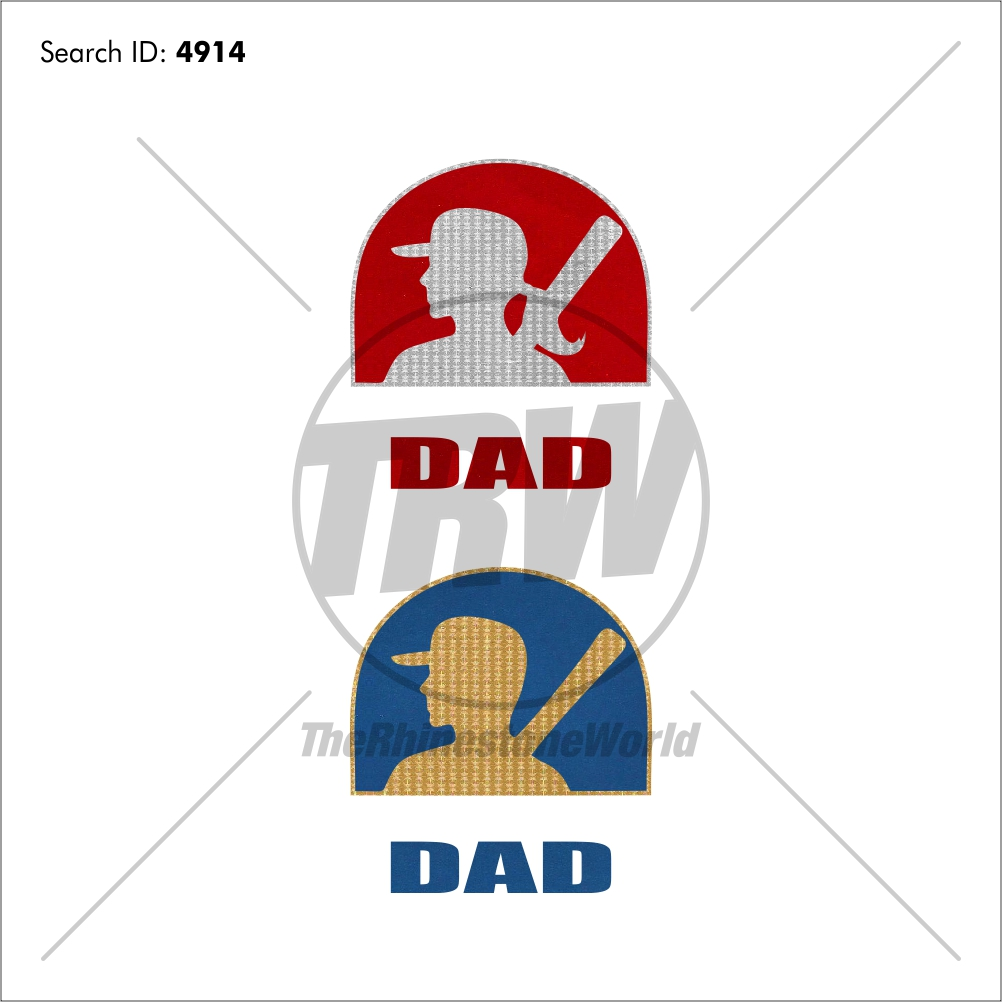 Softball/Baseball Dad Design - Download