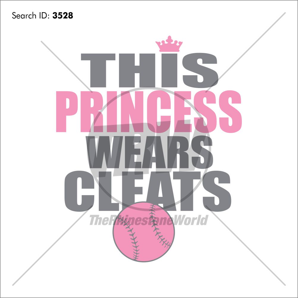 Softball Princess Design - Download