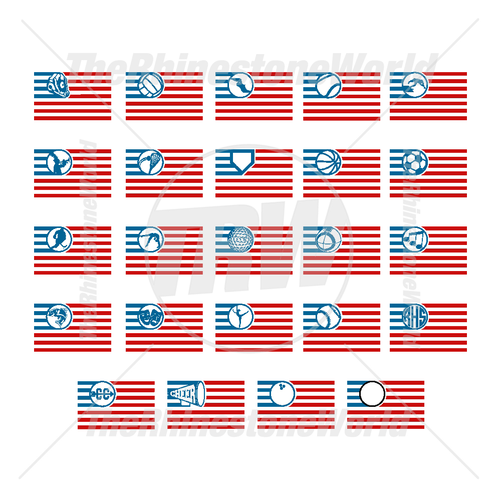Sports Flag Live Template Mini Pack