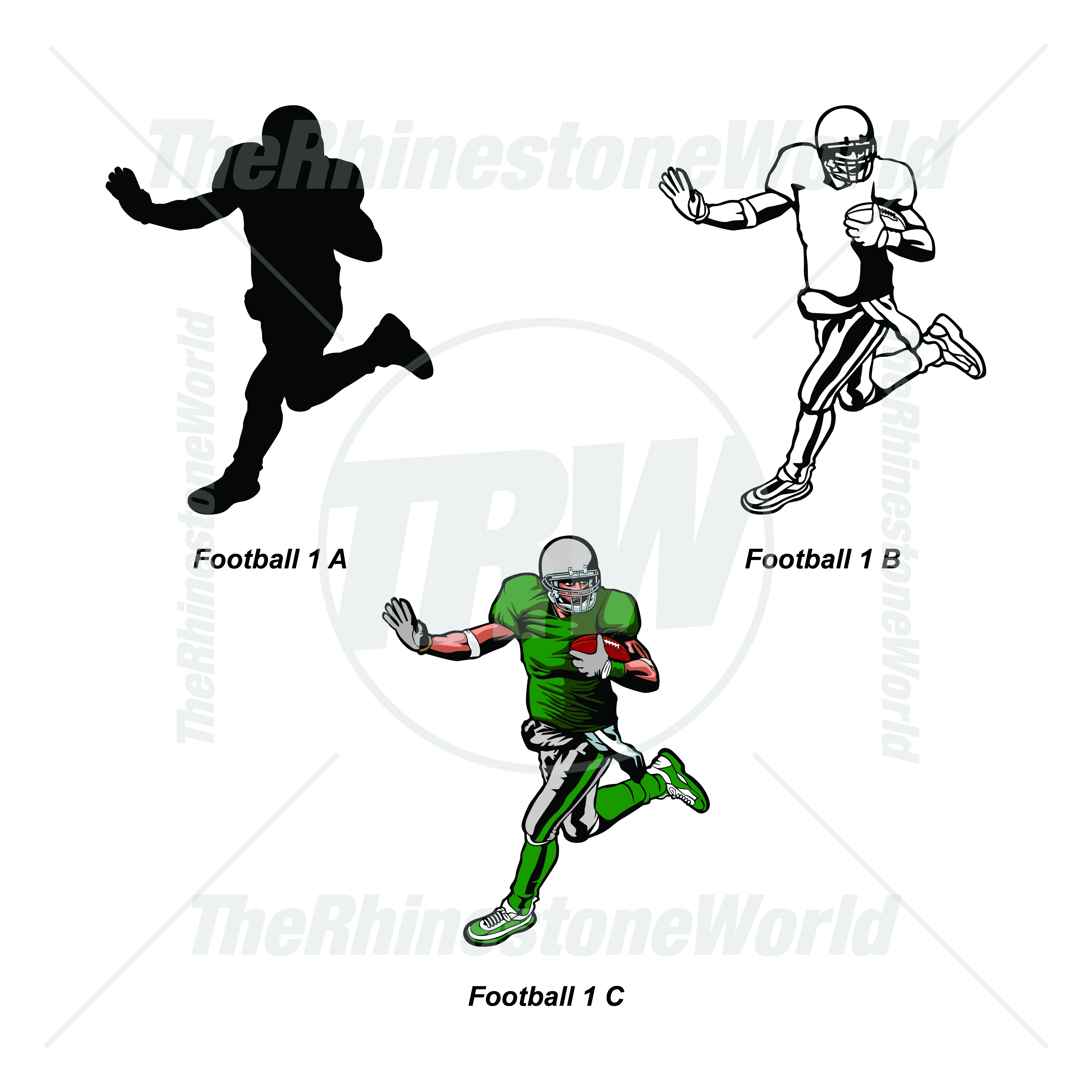 Sports Player Pack Football 1 - Download