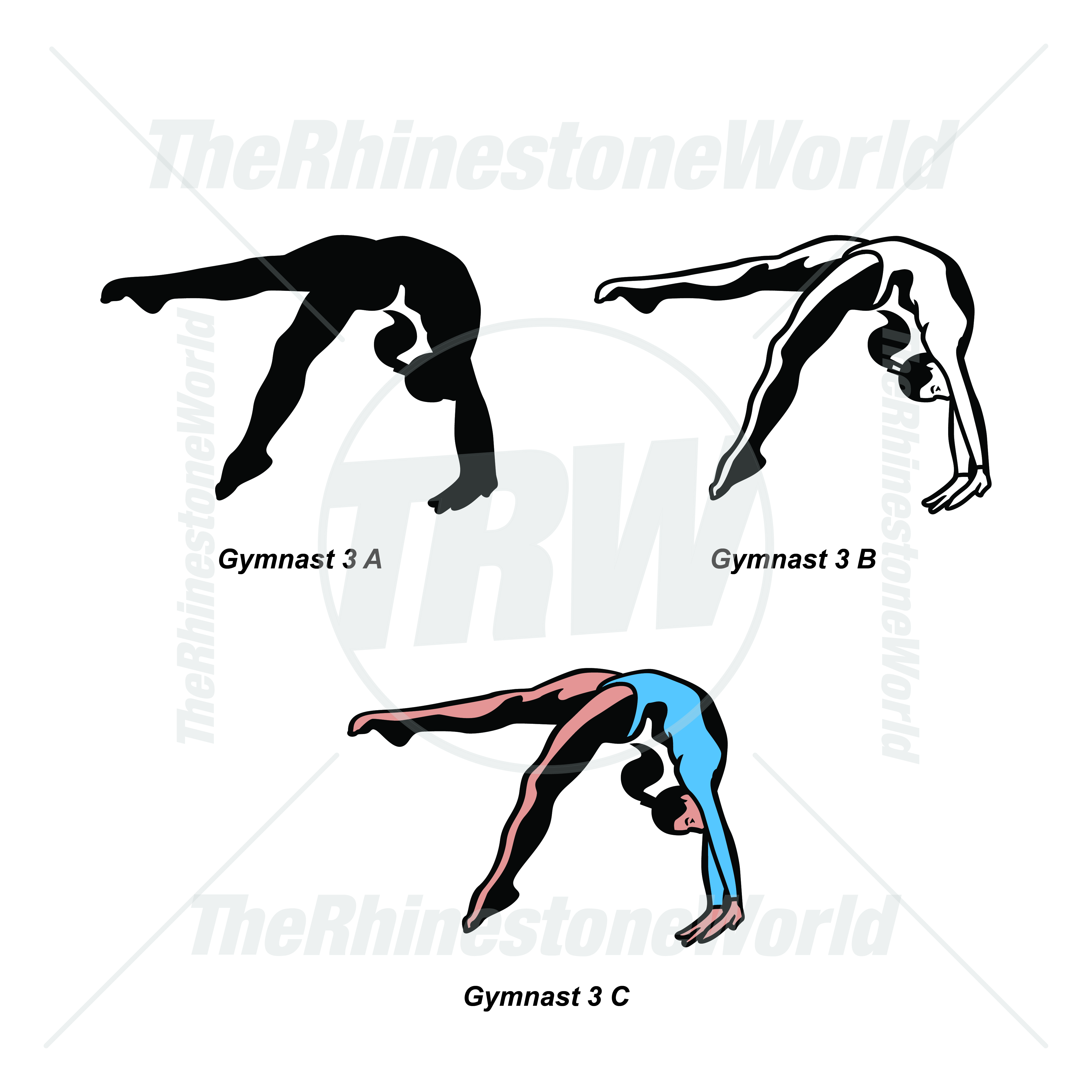 Sports Player Pack Gymnast 3 - Download