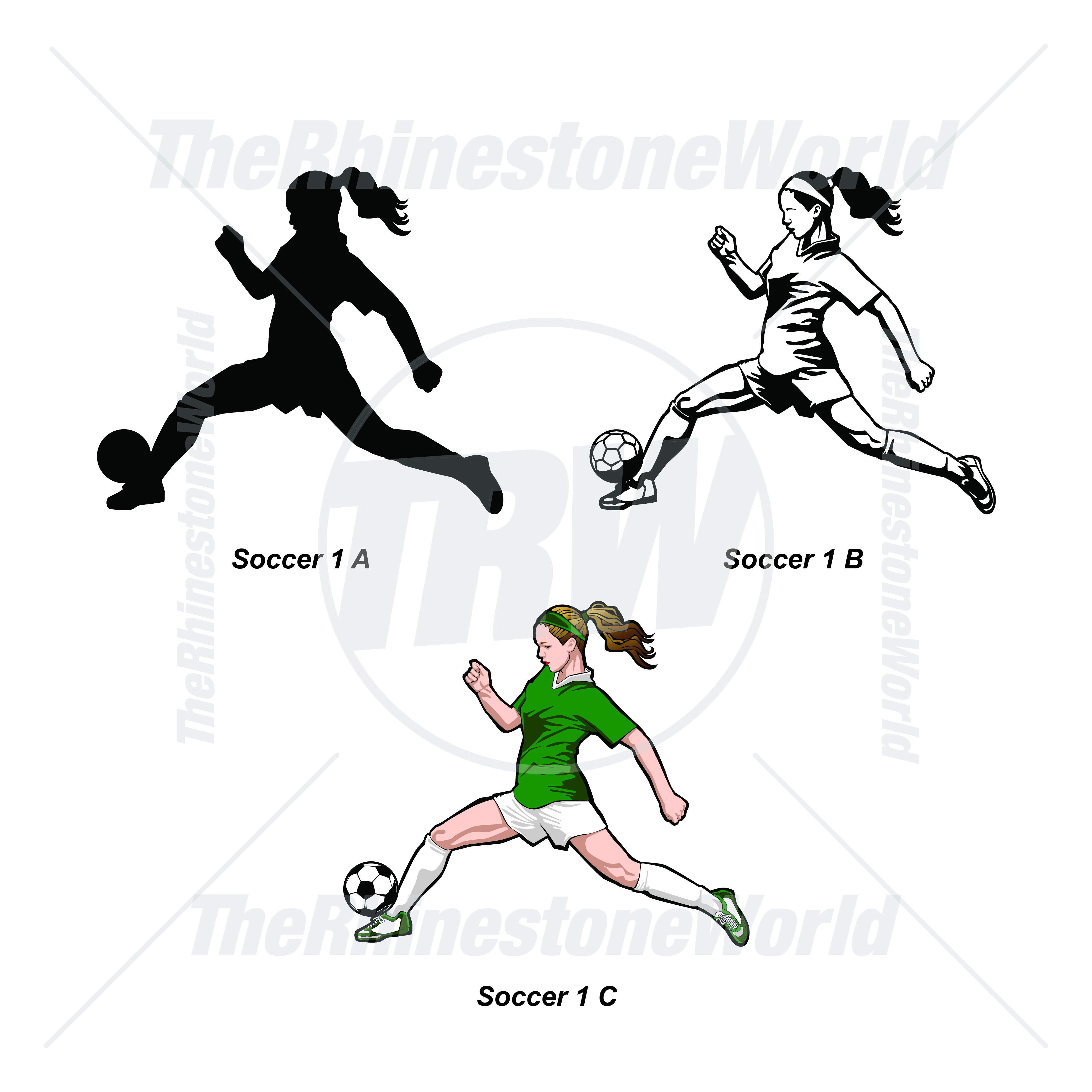 Sports Player Pack Soccer 1 - Download