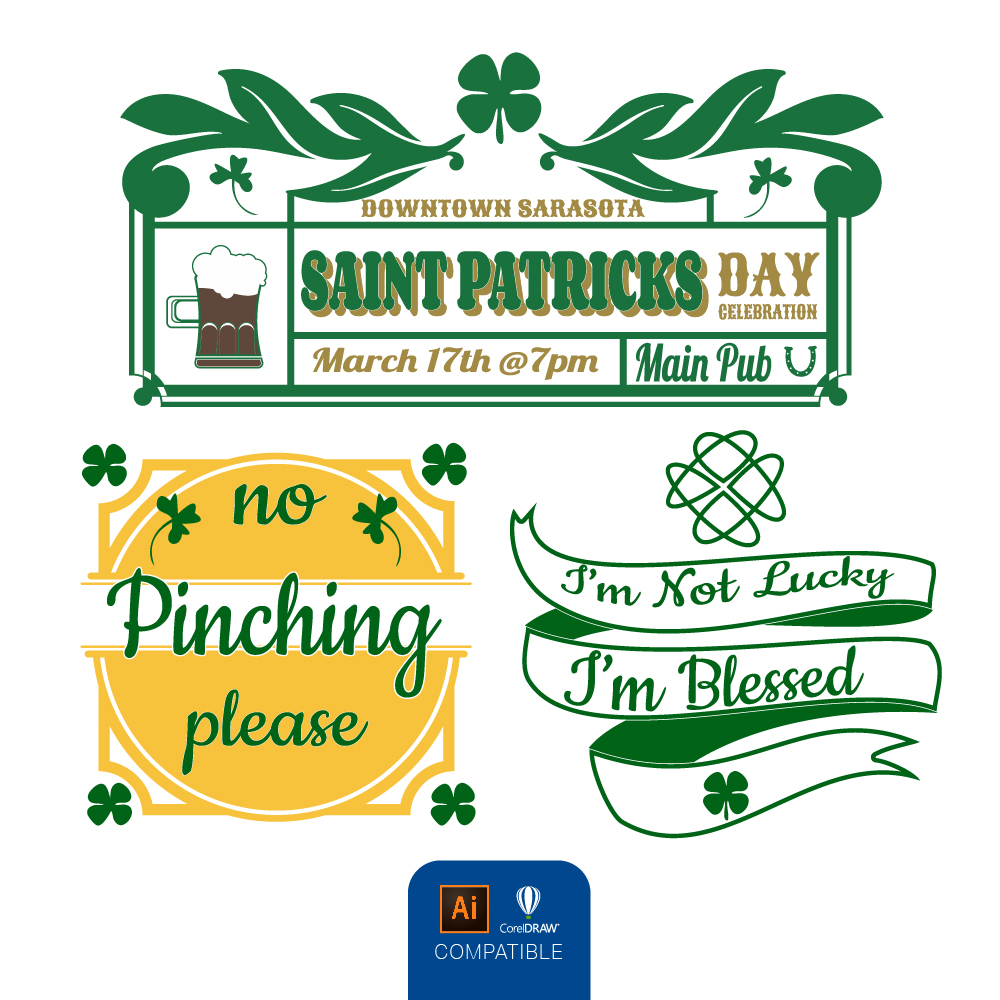 St Patrick's Day Mini Pack