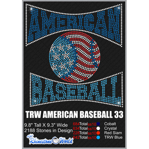 AMERICAN BASEBALL 33 Design  - Download
