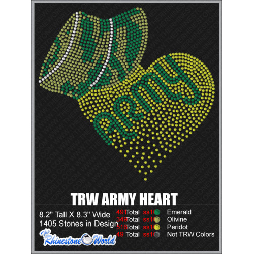 ARMY HEART Design  - Download