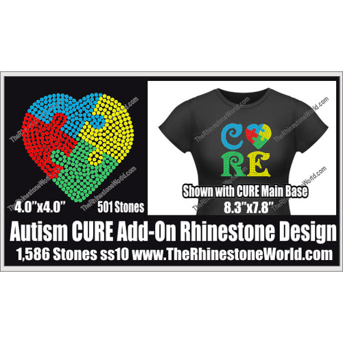 Autism Add-On File Cure/Hope/Love TRW Design - Download