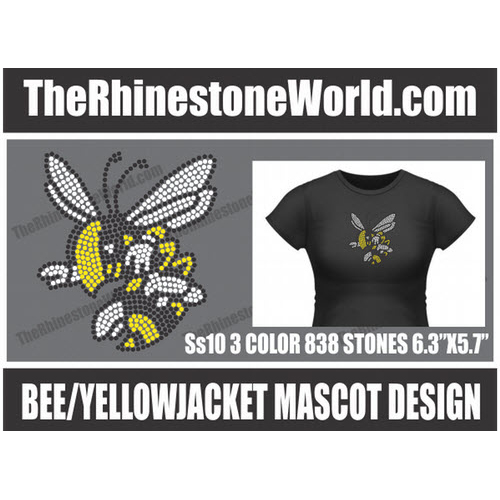 Bee/Yellowjacket Design  - Pre-Cut Template