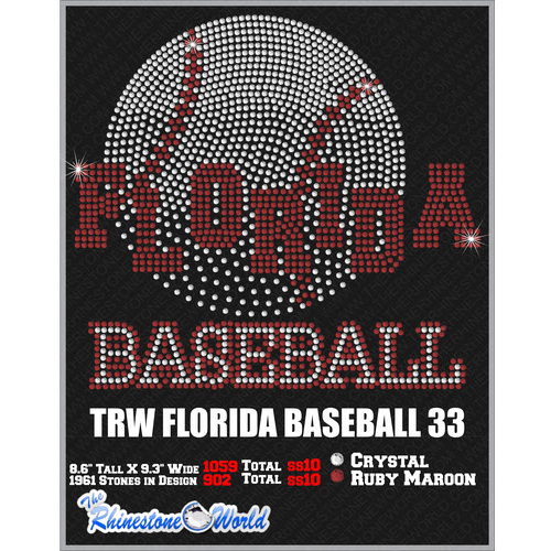 FLORIDA BASEBALL 33 Design  - Download