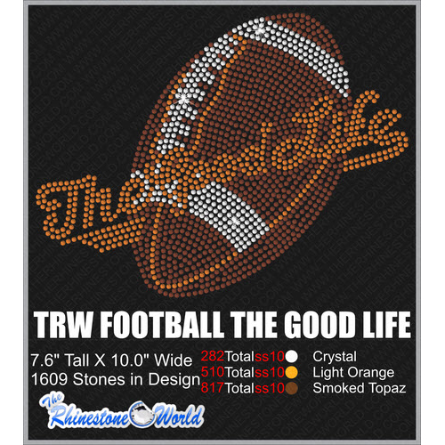 FOOTBALL THE GOOD LIFE Design  - Download